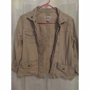 Levi's cargo jacket