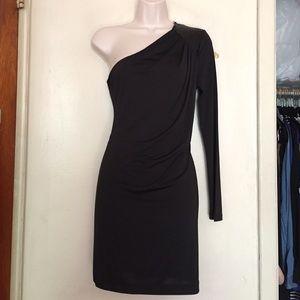 LBD: Black Sequin Dress