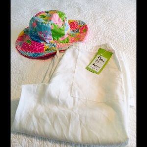 NEW LILLY PULITZER LINEN PANTS