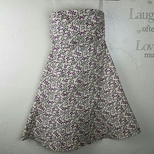GAP Dresses & Skirts - GAP Floral Tube Strapless Dress NWT