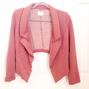 Anthropologie Pink Blazer (M)