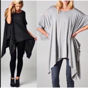 Tops - TANNER Off Shoulder tunic top - OLIVE