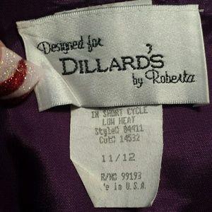 50eb79ad466 Dillard s by Roberta Dresses - Plum Purple Prom Evening Formal Dress