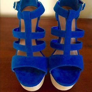 Shoe Republic LA Bound Platform Heels