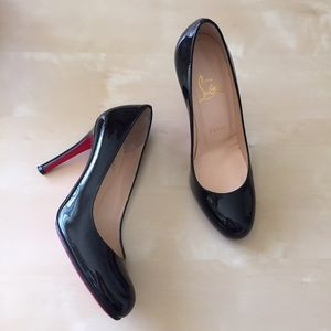 85% off Christian Louboutin Shoes - Louboutin simple pump 100 from ...