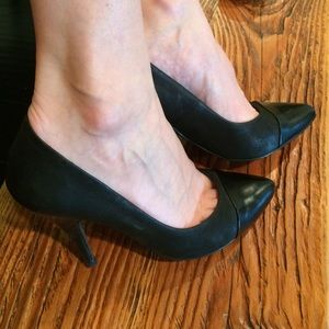 All Saints black pumps