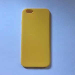 Accessories - Yellow iPhone 6 bendy plastic case