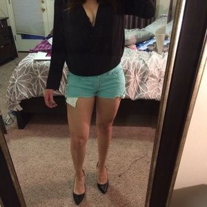 Forever 21 Other - f21 turquoise shorts
