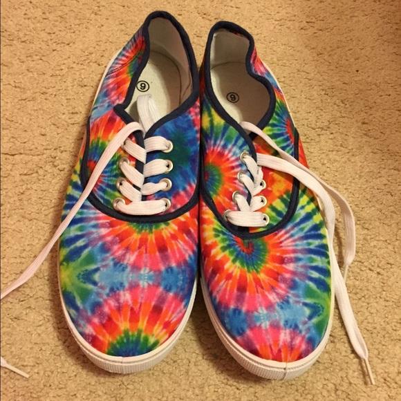 35420a7c504 Brand new tie-dye sneakers