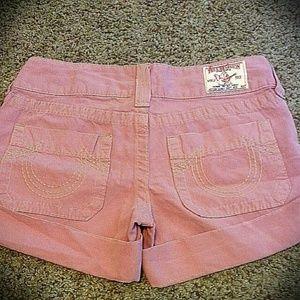 Authentic True Religions shorts