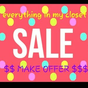 Other - 💕closet clearout💕 bundle and save big💕