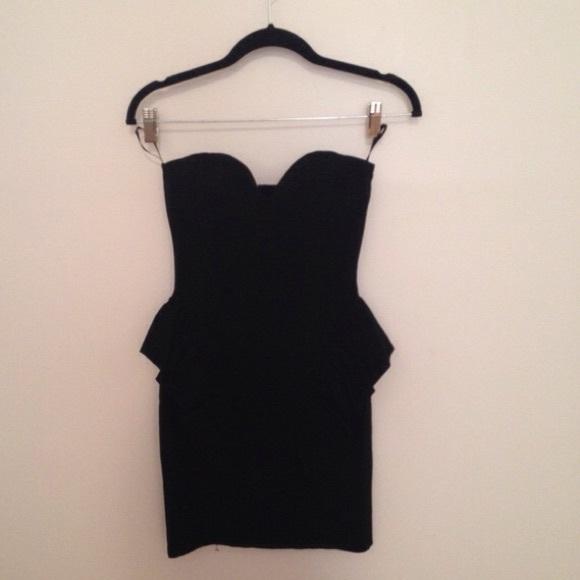 Arden b black dress zara