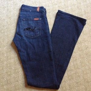 7 for all Mankind Pants - Jeweled Pocket 7 for all mankind jeans LIKE NEW