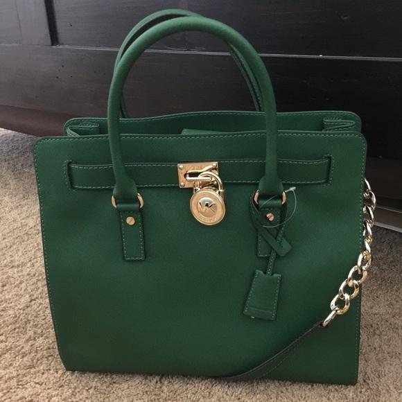 a5ff465c6437 Michael Kors Bags | Emerald Hamilton | Poshmark