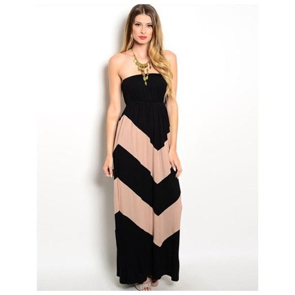 That Glam Girl Boutique Dresses & Skirts - Chevon maxi