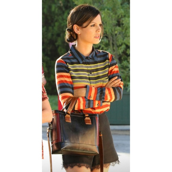 Equipment Femme Daddy Striped Blouse Hart of Dixie
