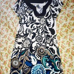 COLOR PRINT DRESS