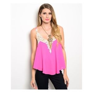 pink berry boutique Tops - Pink Top