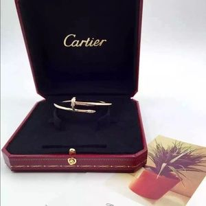 18k yellow gold Cartier bangle