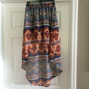 77 dresses skirts bohemian high low skirt from