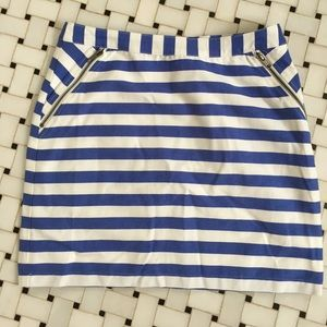 Striped mini skirt from Tinley Road NWT