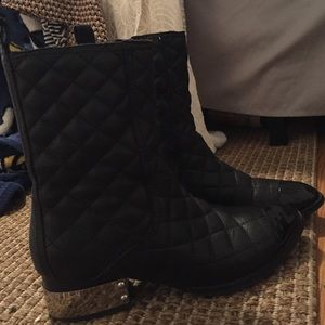Jeffrey Campbell rare black boot