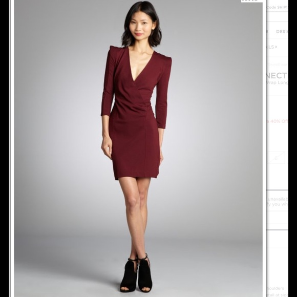 French Connection Dresses Nwt Wrap Dress Poshmark