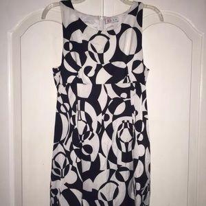 Black&White GLAM Dress