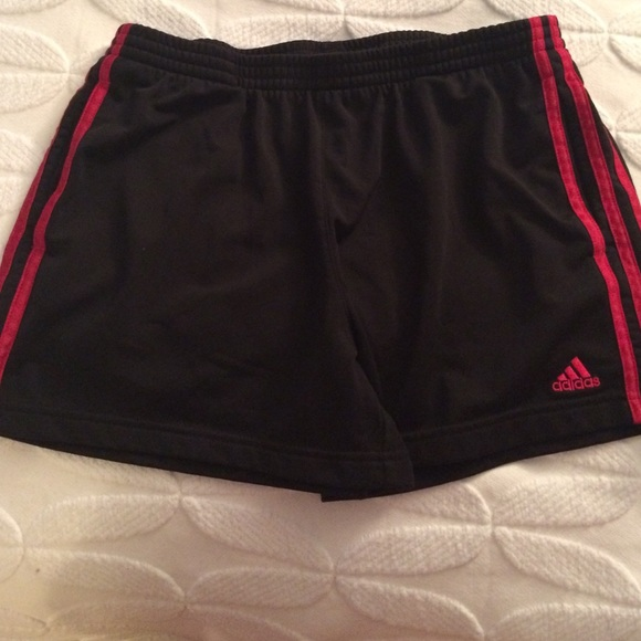 Red and Black Shorts