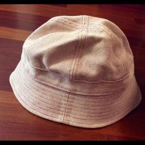American Eagle Outfitters Accessories - American Eagle red   white bucket  cap hat 52669407918