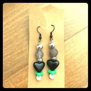 Jewelry - Black Dahlia Handmade Custom Earrings