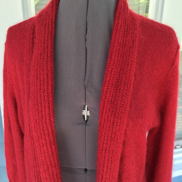 92% off Eileen Fisher Sweaters - EILEEN FISHER Red Mohair/Wool ...