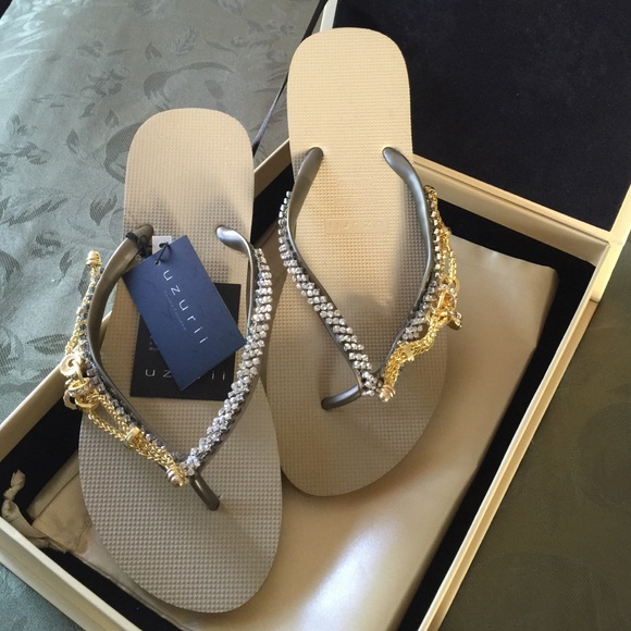 76430a556 Flip flop sandals by uzurii. M 5588ac7c8fe4215137000668