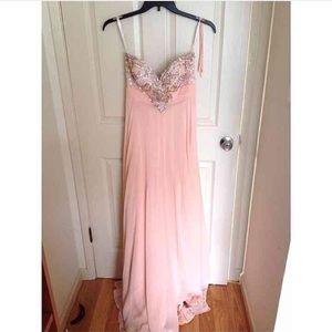 Prom girl prom dress