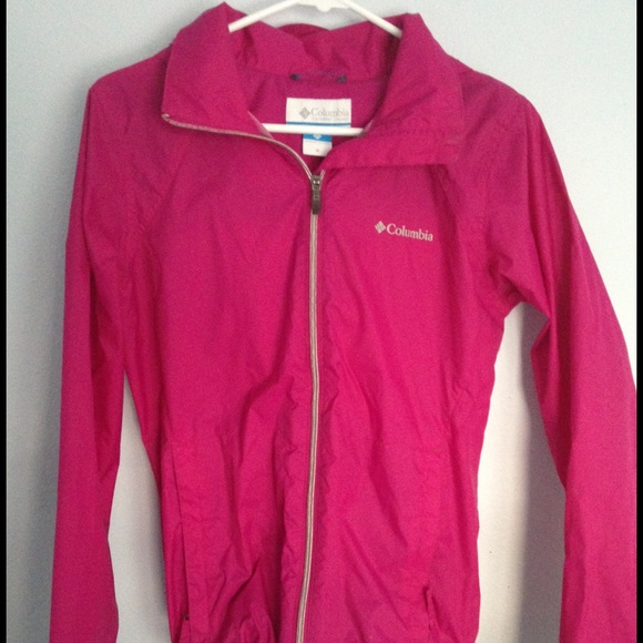 82% off Columbia Jackets & Blazers - Pink Columbia rain coat from ...