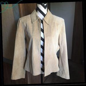 💯 Suede Jacket
