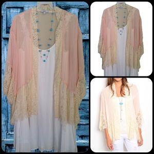 TillieCreekClothing Tops - Summer Blush Kimono