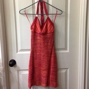 Guess shimmery summer halter dress