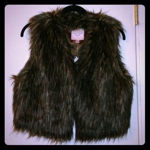 JUST REDUCED!!!  Faux fur vest