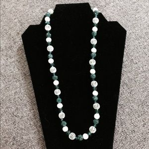 One of a kind Swarovski crystal necklace.