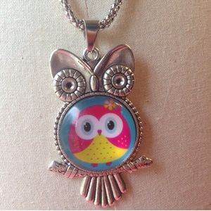 Jewelry - (E1) 🦄5 for $35🦄 Owl Necklace