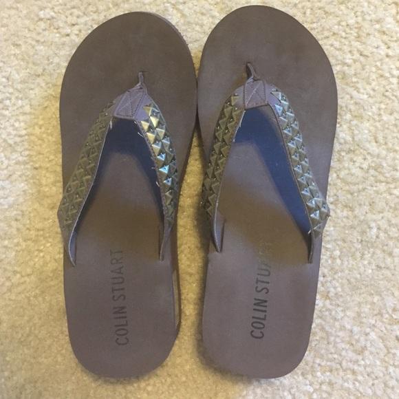 Colin Stuart Shoes  Wedge Flip Flops  Poshmark-4754