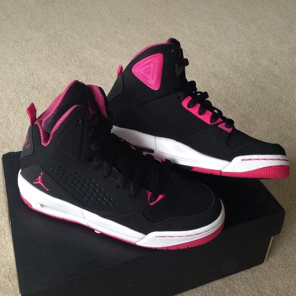 nike air jordan flight pink