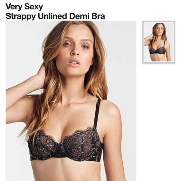 43% off Victoria's Secret Other - 36C Very Sexy unlined demi bra ...