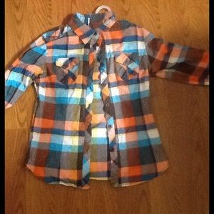 Colorful flannel Shirt !!