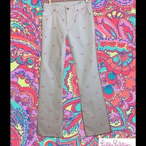 💥FINAL CLEARANCE💥Lilly Pulitzer Aida White Jeans
