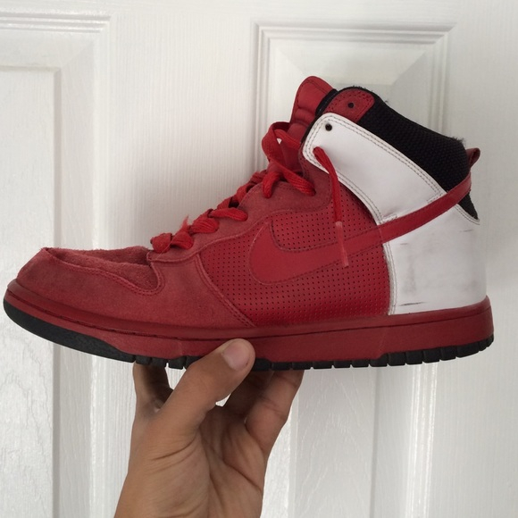 buy popular ec6a0 16d7a Jordan Shoes - Nike Dunk High NBA Chicago Bulls