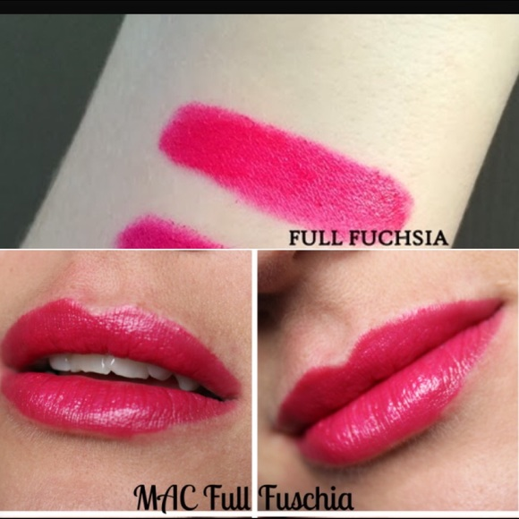 31% off MAC Cosmetics Other - Mac Full Fuchsia lipstick ...  Mac Lipstick Full Fuchsia