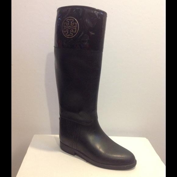 68b397f7cdf8 Tory Burch Winnie Riding Rain Boot. M 5589c32e0d9878366a0054d7