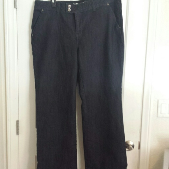 50% off Lane Bryant Pants - Lane Bryant wide leg jeans size 20 ...